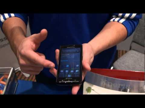 Sony Ericsson demos exciting features of Xperia 10 and Vivaz Pro