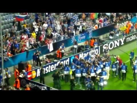 Chelsea v Bayern Munich, celebration songs including One Step Beyond & Liquidator
