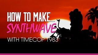 How To Make Synthwave with Timecop 1983 - Creating the bass.