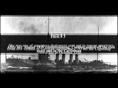 USS Cushing (DD-55) Top # 7 Facts