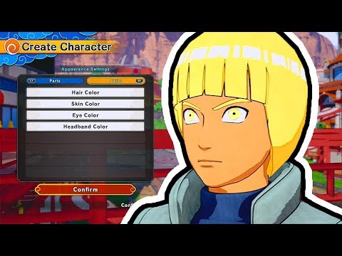 OUR CHARACTER CREATION! | Naruto to Boruto: Shinobi Striker Gameplay Walkthrough Part 1 (PS4 BETA)