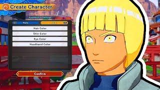 OUR CHARACTER CREATION! | Naruto to Boruto: Shinobi Striker Gameplay Walkthrough Part 1 (PS4 BETA)