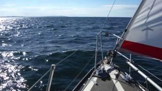 Sailing my Mirage 28 again