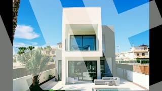 A vendre villa moderne à 600m de la plage Alicante Costa Blanca en Espagne