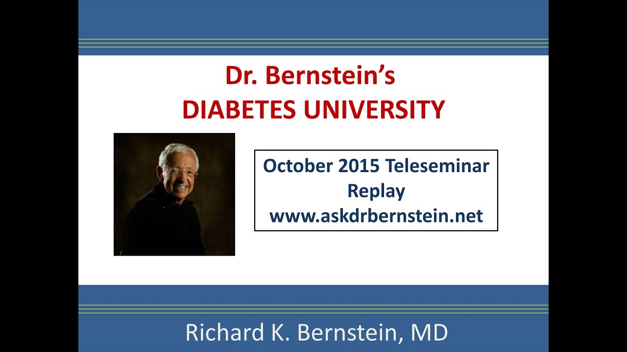 Teleseminar Clip, Oct 2015: The Root Cause of Diabetic Complications and  DHEA
