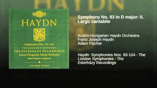 Symphony No. 93 in D major: II. Largo cantabile