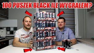 TEST KUPIŁEM 100 PUSZEK ENERGETYKA BLACK - SPRAWDZAM ILE WYGRAŁEM