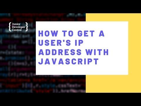 How To Get a User's IP Address With JavaScript thumbnail
