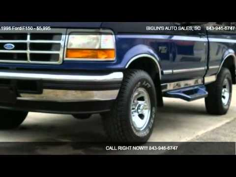 2012 Ford F 150 Xlt >> 1996 Ford F150 XLT - for sale in Myrtle Beach, SC 29577 ...