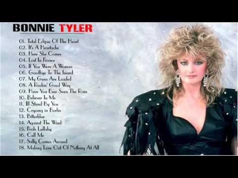 Bonnie Tyler Greatest Hits (FULL ALBUM)   Bonnie Tyler BEST SONGS [PLAYLIST 2017]