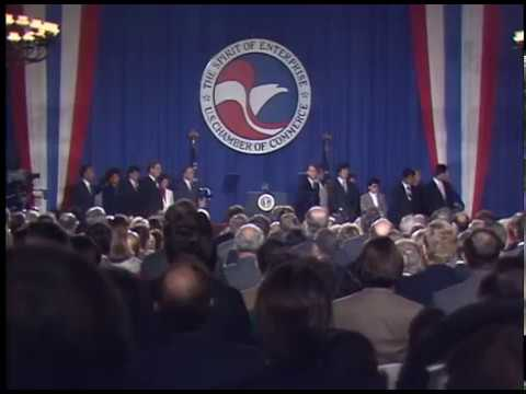 Download Youtube: President Reagan's Remarks to the United States Chamber of Commerce on November 19, 1987