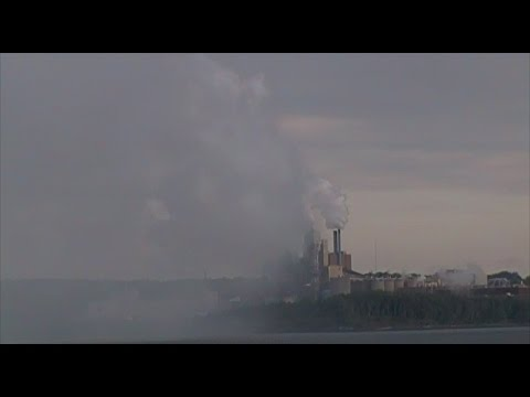 Northern Pulp Mill and Pictou, NS - July 27, 2014