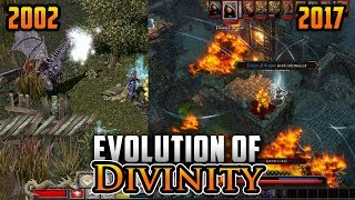 Graphical Evolution of Divinity (2002-2017)