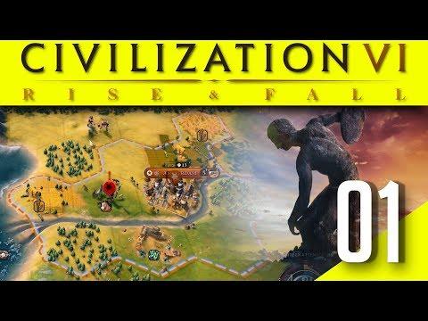 Civilization VI - Rise and Fall #01 : On débute !