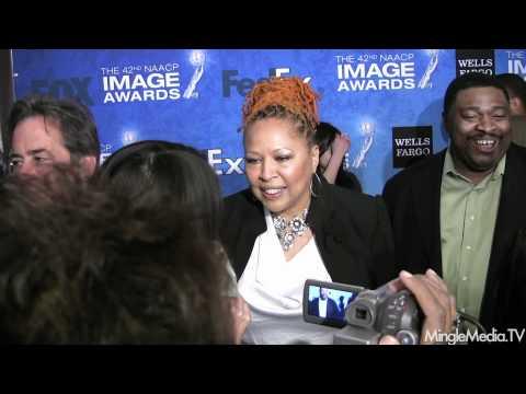 Myra J at 42nd NAACP IMAGE AWARDS NOMINEES' LUNCHEON