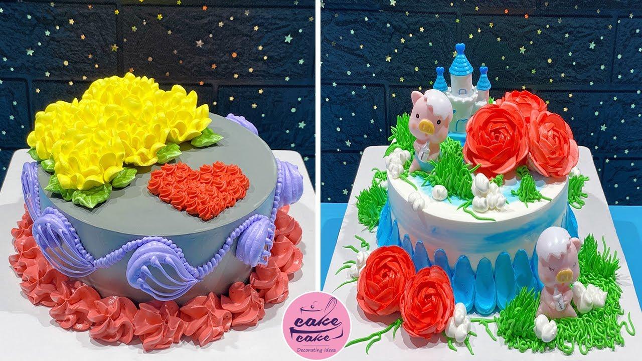 Beautiful Cake Decorating Ideas Like A Pro | So Yummy Cake Recipes | Chocolate Cake Recipes
