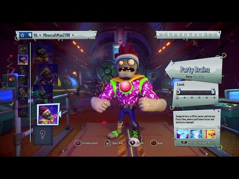 Party Brains  |Plants vs zombies Garden warfare 2 | part 7
