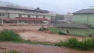 Enchente em Santa Cruz do Descalvado (MG)