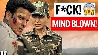 The Family Man Season 2 Review & Analysis   Manoj Bajpayee, Samantha Akkineni   Amazon Prime Video Thumb