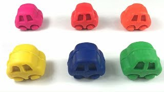 Learn Animal For Kids With Play Doh Amazing Colors Cars | Learning Videos For Kids