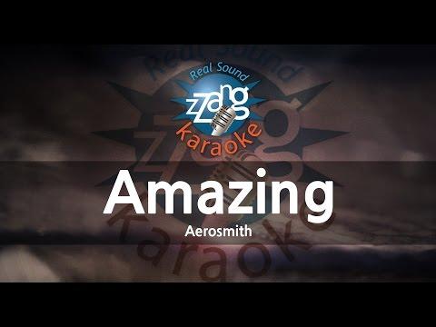 Aerosmith-Amazing (Melody) (Karaoke Version) [ZZang KARAOKE]
