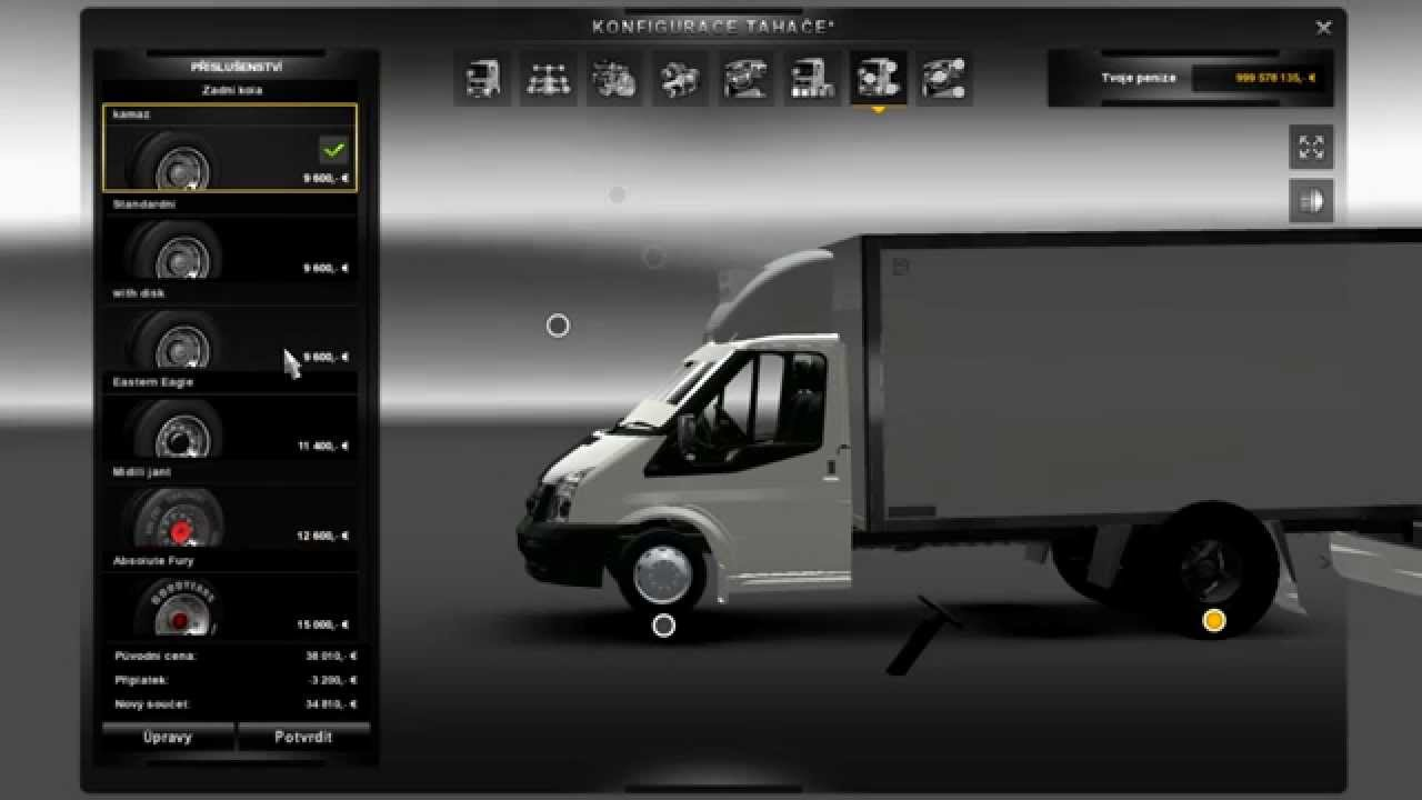 Euro Truck Simulator 2 Ford Tranzit Jubo Youtube