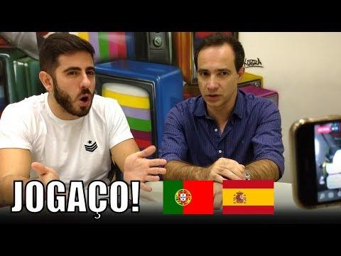 Portugal 3 X 3 Espanha E Brasil Na Copa Do Mundo - Direto Da Redação (15/06/18)