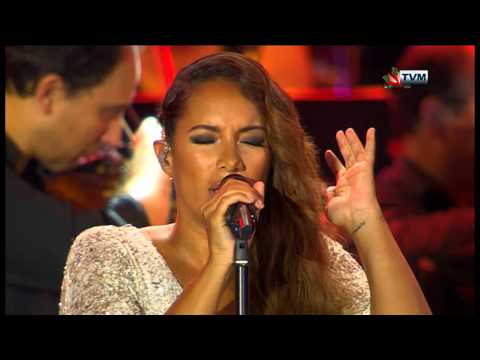 Leona Lewis in Malta  A Moment Like This  Bleeding Love Joseph Calleja Concert 2014