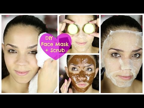 Ultimate DIY Face Mask + DIY Face Scrub for Acne, Oily Skin, Dry Skin, Black Heads