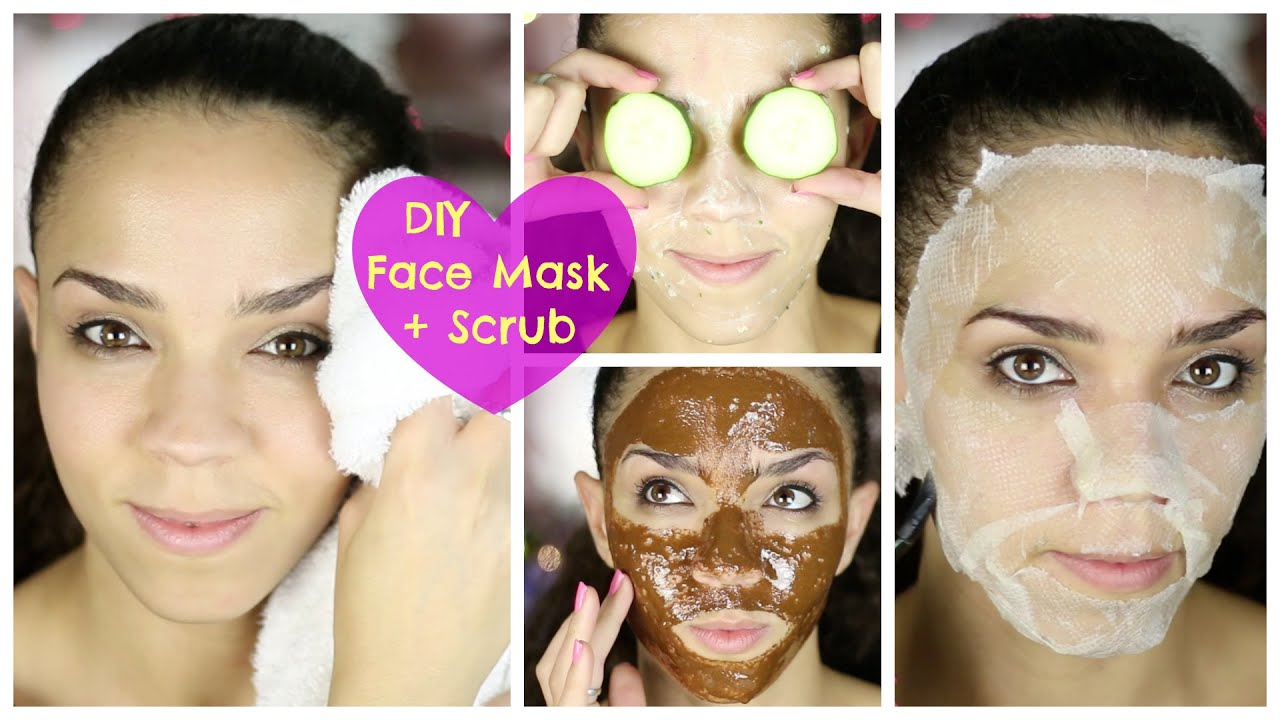 Ultimate Diy Face Mask + Diy Face Scrub For Acne, Oily Skin, Dry Skin,  Black Heads  Youtube