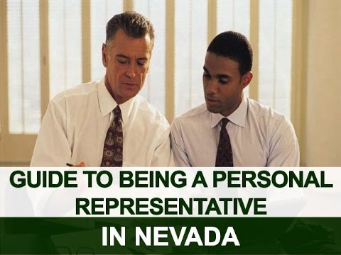 Guide to Being a Personal Representative in Nevada