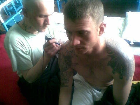 Расписная азбука. Тюремные татуировки смотреть онлайн
