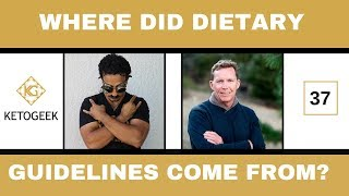 Where Did The Dietary Guidelines Come From? || Gary Fettke on Ketogeek Podcast