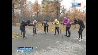 Как в газовой столице округа отметили Всероссийский день ходьбы