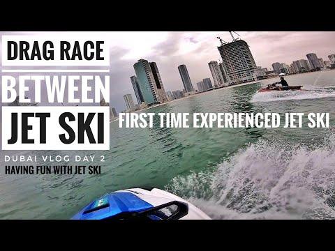 Drag race between Jet Ski | My First Time On Jet Ski Dubai | Dubai vlog 2