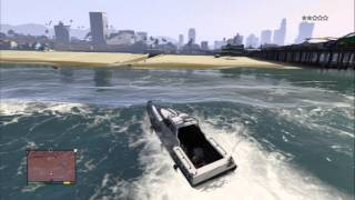 GTA V How To Steal A Police Boat