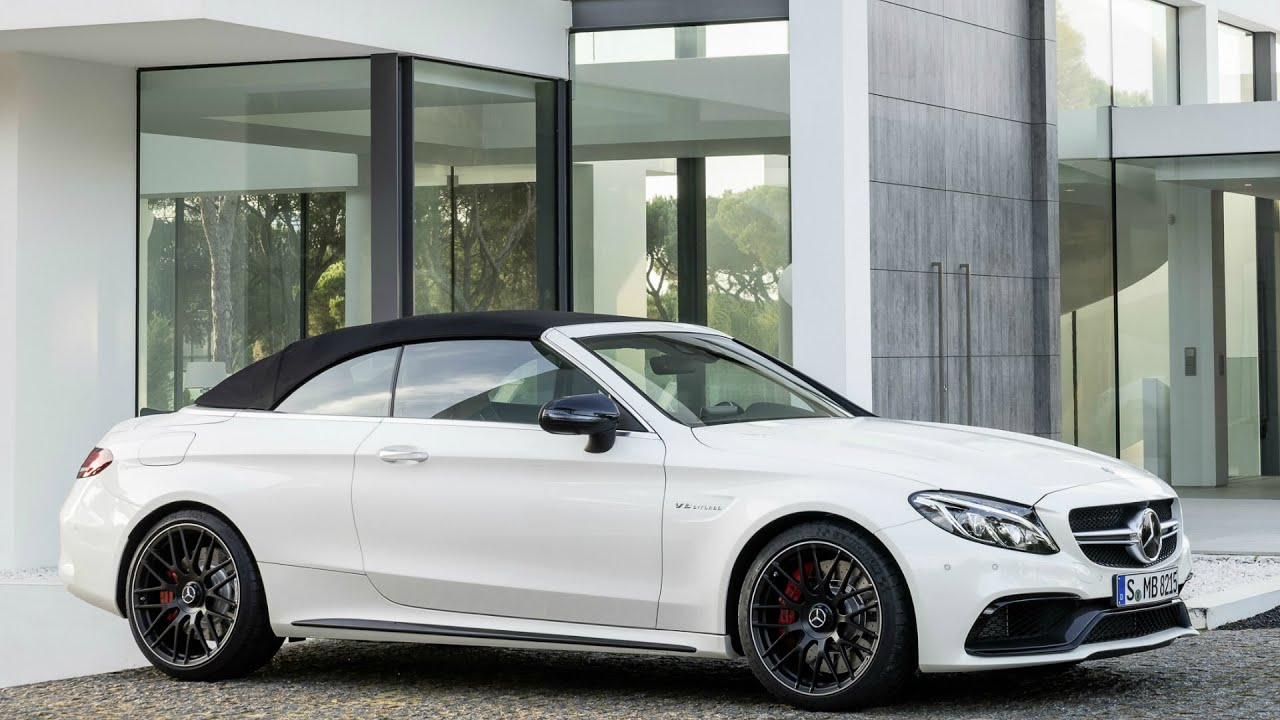 2016 mercedes amg c63 s cabriolet interior and exterior youtube. Black Bedroom Furniture Sets. Home Design Ideas
