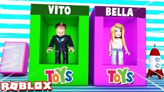 WE MADE OUR OWN TOY FACTORY IN ROBLOX | Vito and Bella