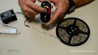 How to use LED Strip Lights and RGB Touch Controller from LED Trail
