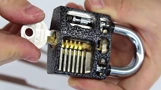 Как взломать замок за 1 секунду / 3 лучших инструмента