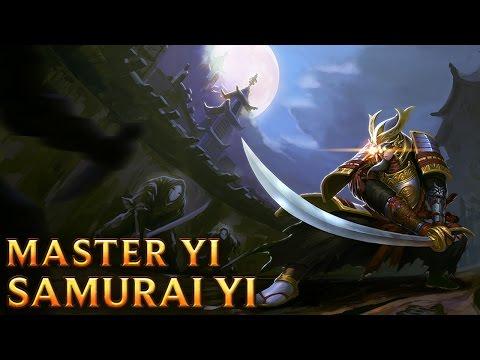Samurai Master Yi - Skins lol