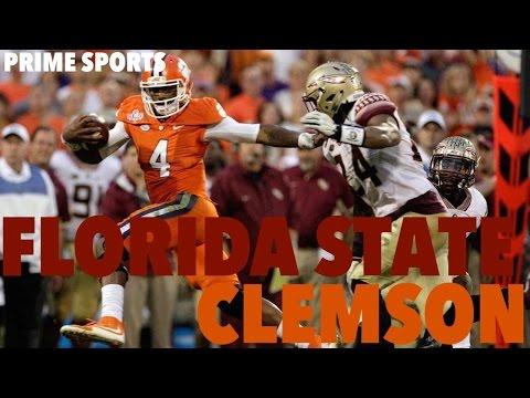 #16 Florida State @ #1 Clemson Highlights 2015