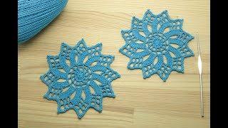 АЖУРНЫЙ КРУГЛЫЙ МОТИВ вязание крючком мастер-класс How to Crochet for Beginners