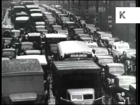 New York City During WWII, Wartime, 1940s, Street Scenes, Archive Footage