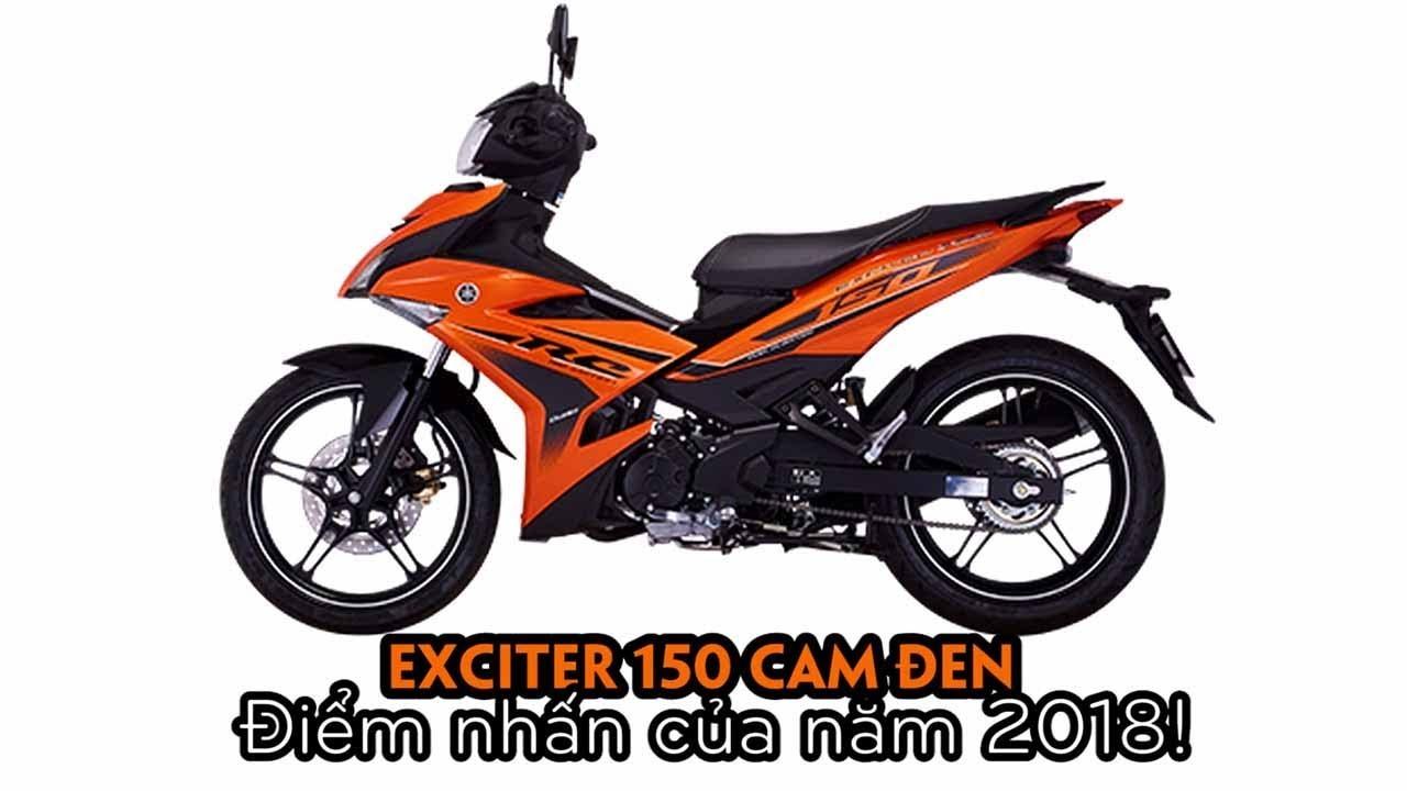 Exciter 150 RC 2018 Cam Đen Catalog ▷ Điểm nhấn xe côn tay Yamaha của năm!