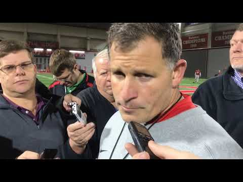 Greg Schiano on if Ohio State's pass defense is ready for Penn State