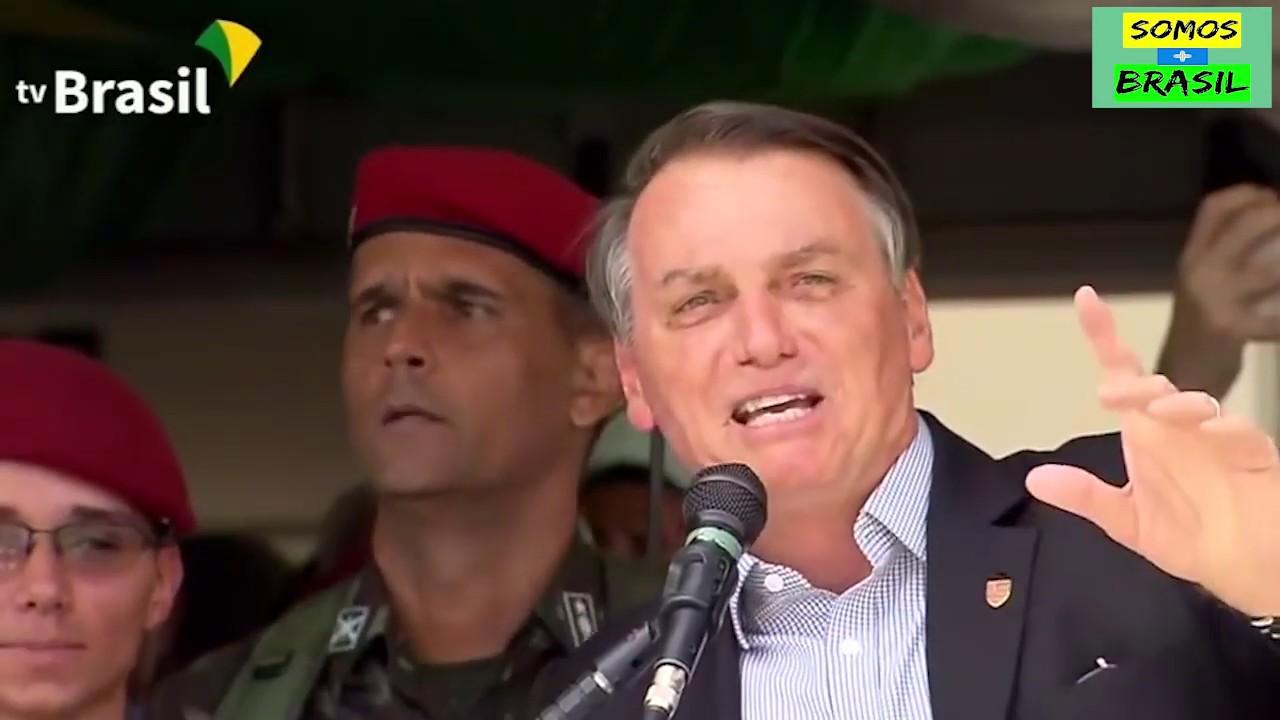 Bolsonaro afirma Hoje Somos Todos Flamengo!!! - YouTube