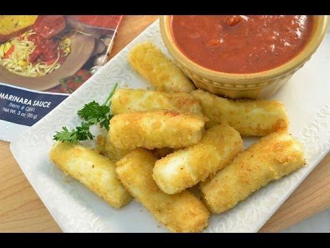 How to Make Homemade Fried Mozzarella Cheese Sticks | RadaCutlery.com ...