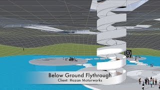 Experiment 1 - Below Ground Flythrough