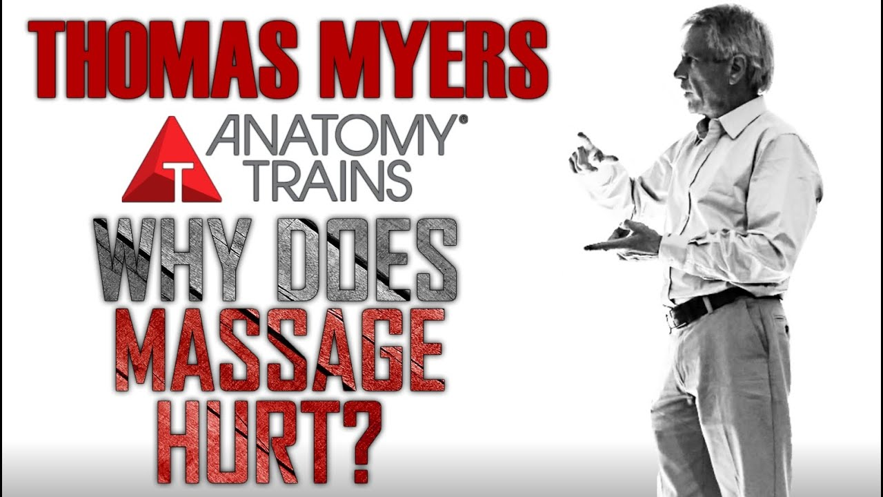 Thomas Myers - Why does Massage Hurt - YouTube